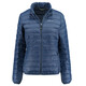 """Meru W's Seattle Padded Jacket Blue Wing Teal"""
